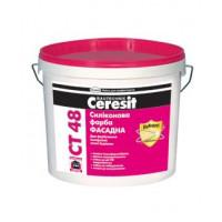 Ceresit  CT 48 Краска фасадная силиконовая, 10л в Одессе