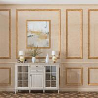Декоративные стеновые панели ПВХ травертин 19