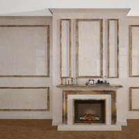 Декоративные стеновые панели ПВХ оникс 45