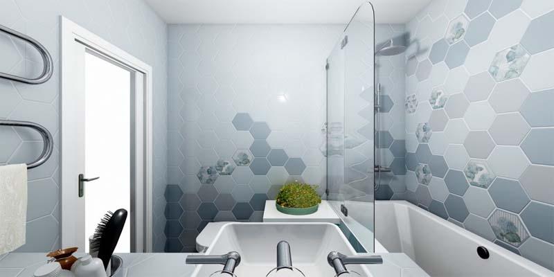 Выбор плитки в ванну