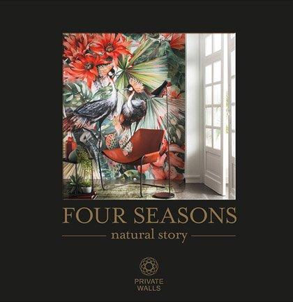 Новинка с выставки 2018 обои AS Creation Four Seasons